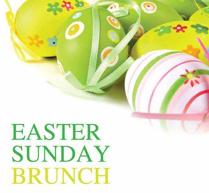 Easter Brunch, Tukka