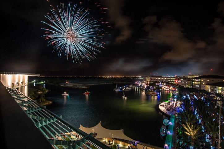 New Year's Eve Party at Camana Bay