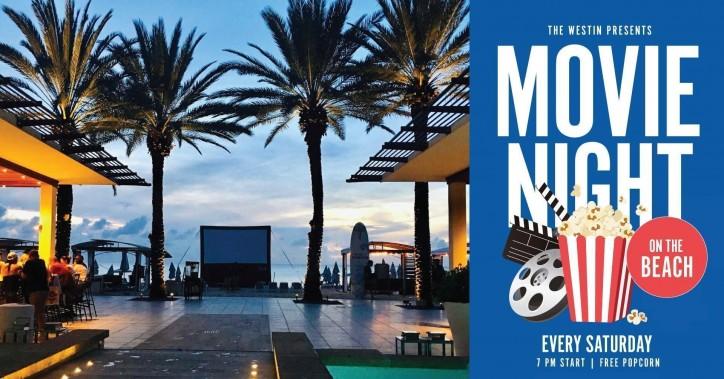 Seven Mile Beach Movie Night, Westin Grand Cayman