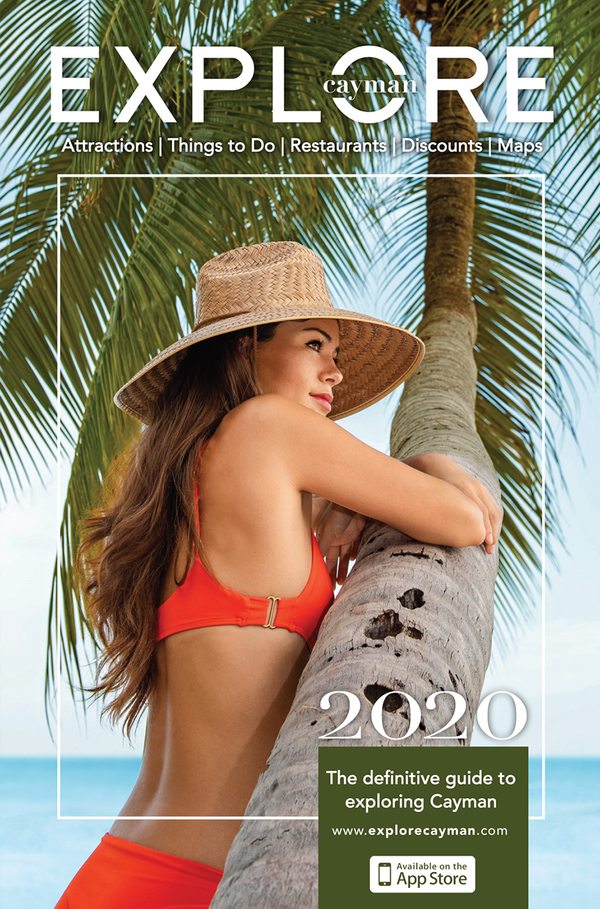 Explore Cayman 2020 Magazine Cover
