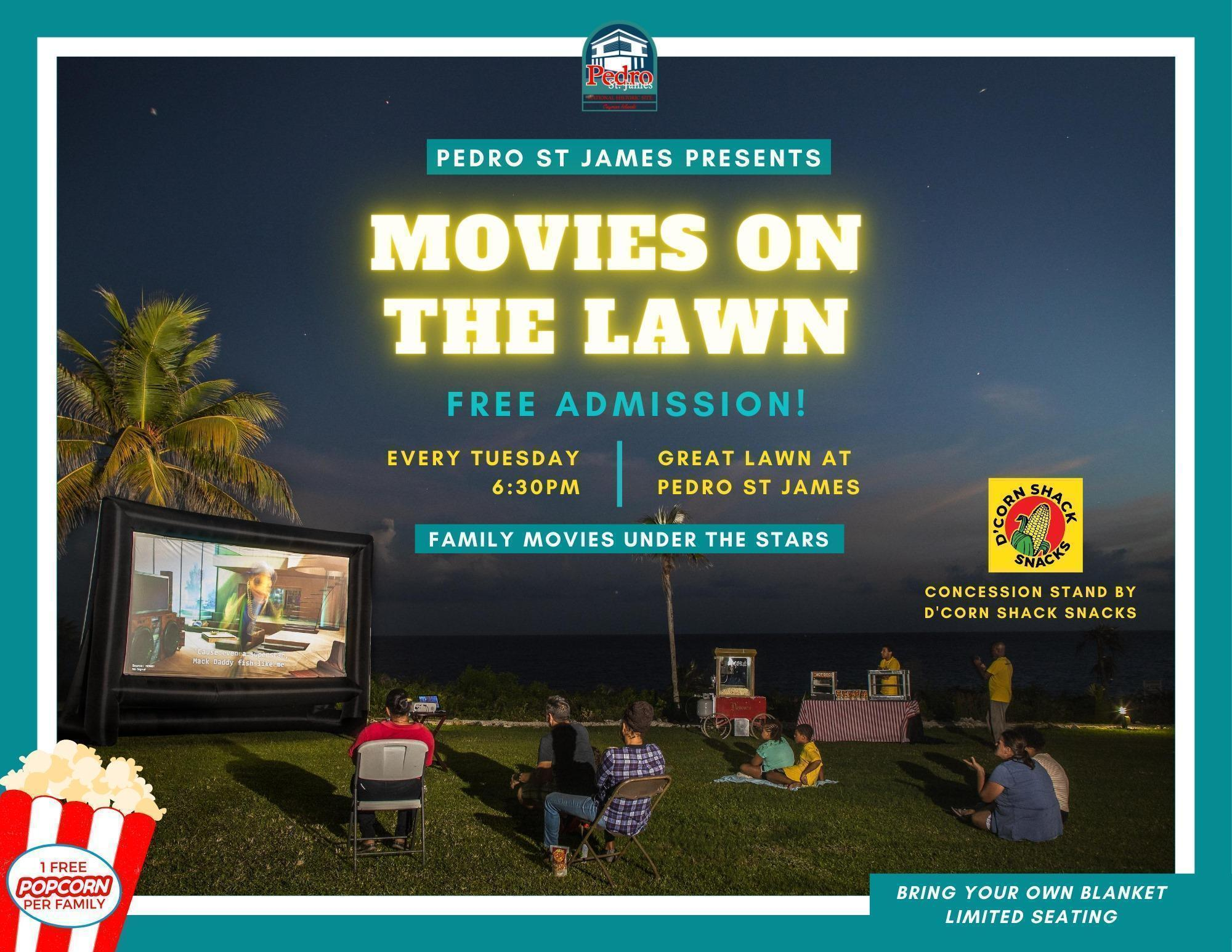 Movies on the Lawn at Pedro St James